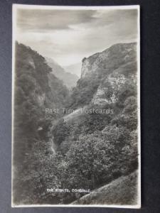 Derbyshire: The Straits DOVEDALE near Ashbourne - Old RP Postcard