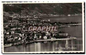 Modern Postcard Montreux Vevey