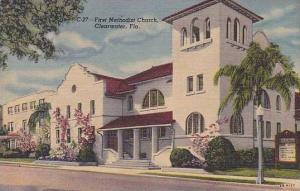 Florida Clearwater The First Methodist Church