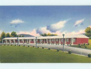 Unused Linen SHELLEY'S MOTEL Dillsburg Pennsylvania PA M6006