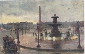 PARIS, France, 1900-10s; La Place de la Concorde ; TUCK 110 No 72