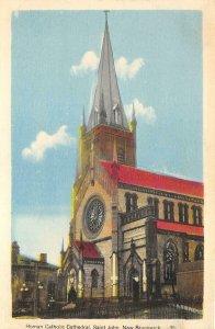 br106609 roman catholic cathedral saint john new burnswick canada