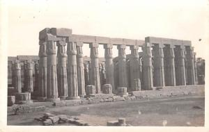 Egypt, Egypte, Africa Luxor Temple, Facing the Nile  Luxor Temple, Facing the...