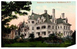 New York  Middletown , Mansion of Webb Horton