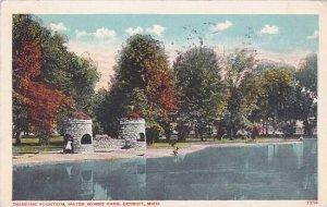Michigan Detroit Drinking Fountain Water Works park