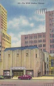 Illinois Chicago The WGN Studios 1957