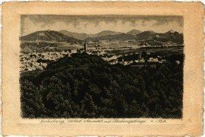 CPA AK GODESBERG - Total Ansicht mit Siebengebirge GERMANY (856750)