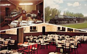 Cheyenne Wyoming~Petersen's Buffet @ Holiday Park~Steam Train-Dining Room~1950s
