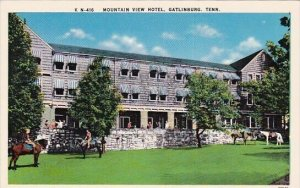 Mountain View Hotel Gatlinburg Tennessee