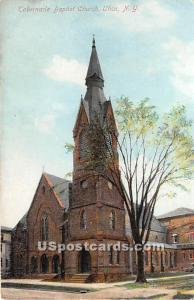 Tabernacle Baptist Church Utica NY Unused
