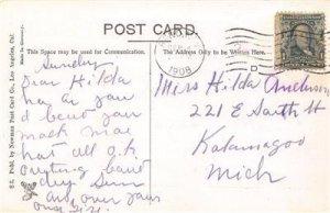 Senator Clark's Residence SAN MATEO CA California Hand-Colored Postcard 1908
