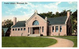 16201    ME   Rockland  Library