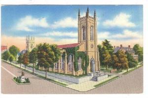 Exterior, St. James' Episcopal Church, Wilmington,  North Carolina, 40-60s
