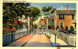 MA - Nantucket. Martin's Lane
