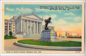 Statue on Capitol Grounds, Will Rogers, Oklahoma City OK