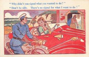 Comic Postcard Garland, Rudolf & Co. W131, Seaside Joke, Humour KJ8