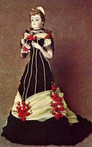 F G Fashionable Lady Doll - Reproduction