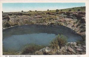 Arizona Montezuma's Well Near Prescott Curteich