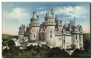 Old Postcard Chateau de Pierrefonds Chapel Approval