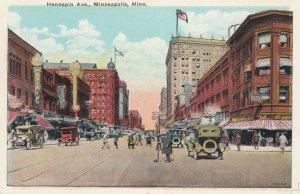MINNEAPOLIS , Minn., 1900-10s ; Hennepin Avenue