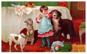 Dog , Charity begins at Home