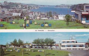 2-views,  Au Parasol,  Chicoutimi,  Quebec,  Canada,  40-60s