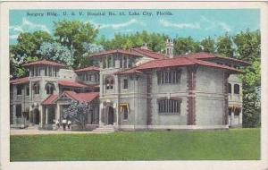 Florida Lake City Veterans Hospital No 63 Surgery Building