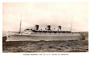 S.S. Queen of Bermuda , Furness Bermuda Line , RPC