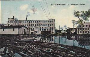 Maine Sanford Goodall Worsted Company 1914