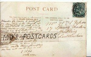 Genealogy Postcard - Jepson - Spring Gardens - Spalding - Lincolnshire Ref 9082A