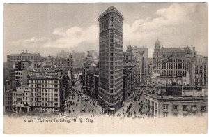 N.Y. City, Flatiron Building