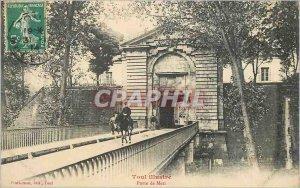 Postcard Old Gate Metz All Illustrates Army