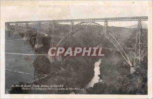 Postcard Old Env Saint Flour Garabit Viaduct