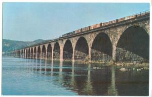 USA, Rockville Bridge, Harrisburg, Pennsylvania, dated, unused Postcard