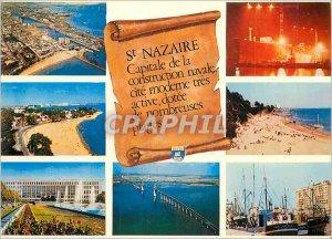 Postcard Old St Nazaire Loire Atlantique