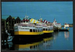ME Ferry Boat Island Romance Oldport PORTLAND MAINE PC