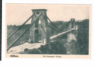 CLIFTON, England, 1900-1910's; The Suspencion Bridge