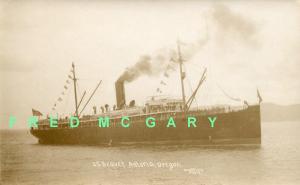 1910 Astoria Oregon: SS Beaver Underway With Passengers