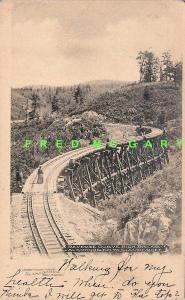 1908 Alamogordo New Mexico Territory PC: Short Line Mountain Railroad