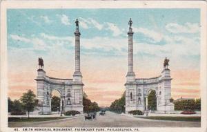 Smith Memorial Monument Fairmount Park Philadelphia Pennsylvania 1924