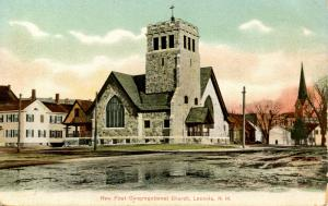 NH - Laconia. New First Congregational Church