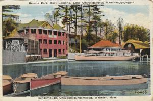 Beacon Park Boat Landing, Lake Chargoggagogg-Manchauggagoggagungamaugg-Chaubu...