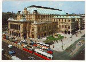 P595 JLs vintage vienna austria trollies, cars the opera house