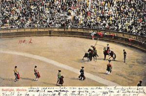 Bullfighting Tarjeta Postal Bullfighting Mexico
