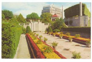 Canada Ontario Oakes Garden Theatre Niagara Falls Sheraton Vintage Postcard