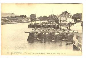 Compiègne, Oise department in northern France, 00-10s Vue sur l´Oise prise ...