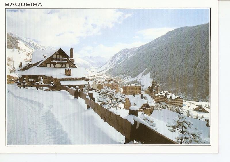 Postal 042371 : Baqueira. Pirineu Catala. Ath Hons val de Ruda