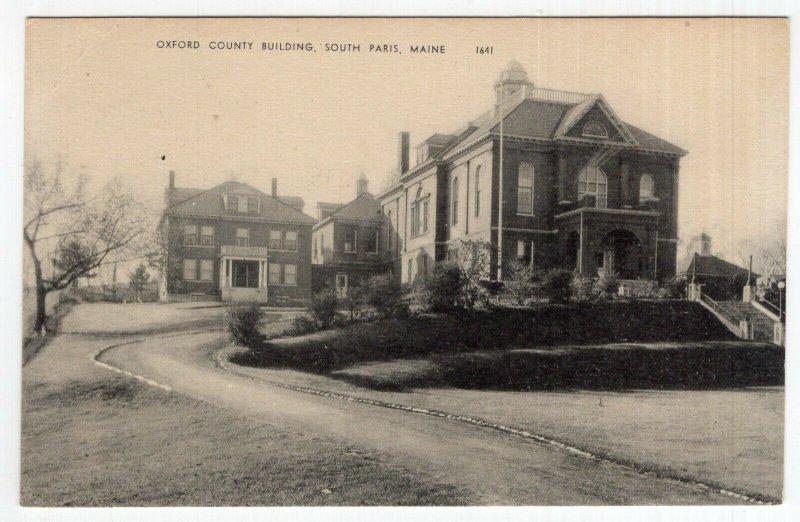 South Paris, Maine, Oxford County Building