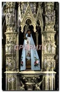 Modern Postcard The Delivrande The Black Madonna