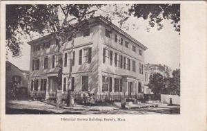 BEVERLY, Massachusetts, 1900-1910's; Historical Society Building